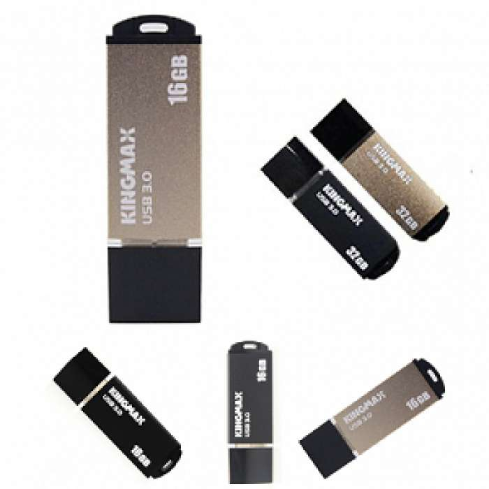 USB Kingmax 3.0 16GB  MB-03 ( black, gold)